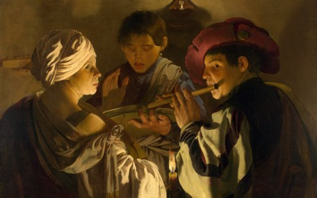 Full title: The Concert Artist: Hendrick ter Brugghen Date made: about 1626 Source: http://www.nationalgalleryimages.co.uk/ Contact: picture.library@nationalgallery.co.uk Copyright (C) The National Gallery, London