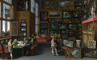 Full title: Cognoscenti in a Room hung with Pictures Artist: Flemish Date made: about 1620 Source: http://www.nationalgalleryimages.co.uk/ Contact: picture.library@nationalgallery.co.uk Copyright (C) The National Gallery, London