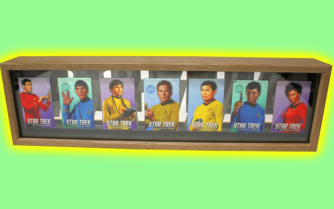 Shadow Box for Star Trek Cards – Dave & Buster's