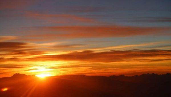 Закат и восход Солнца: описание, уникальность явления (фото)