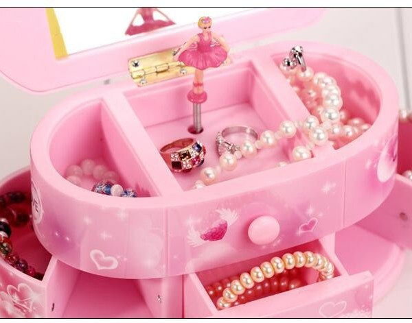 Dancing Ballerina Storage Jewelry Box