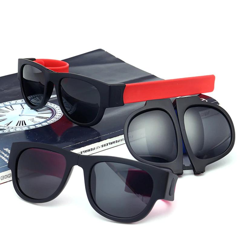 Fancy Slap Wristband Men Polarized Sunglasses 4
