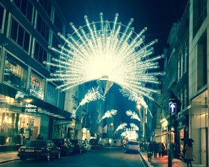 Old Bond Street - Christmas Lights