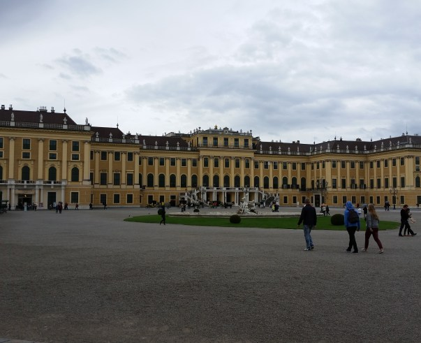 Schönbrunn Palace from the front