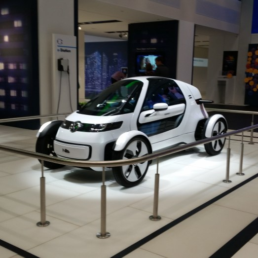 Volkswagen showroom - car?