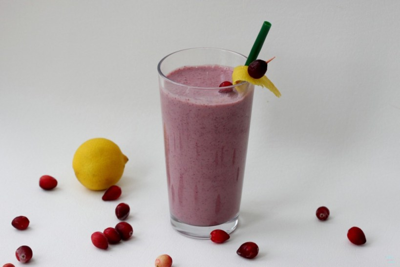 how to make cranverry shake