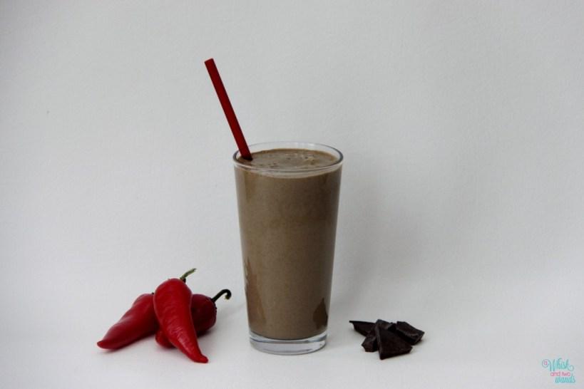 how to make a chocolate protein shake