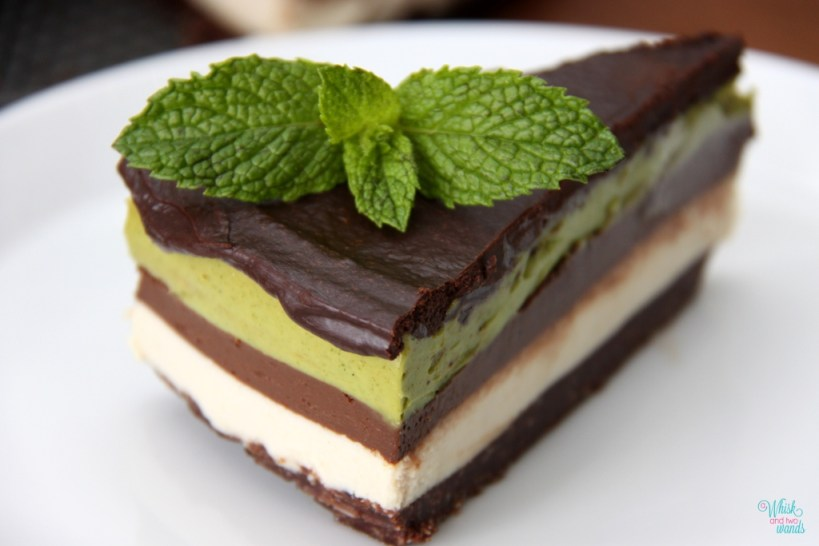 Raw Avocado Chocolate Mousse Cake