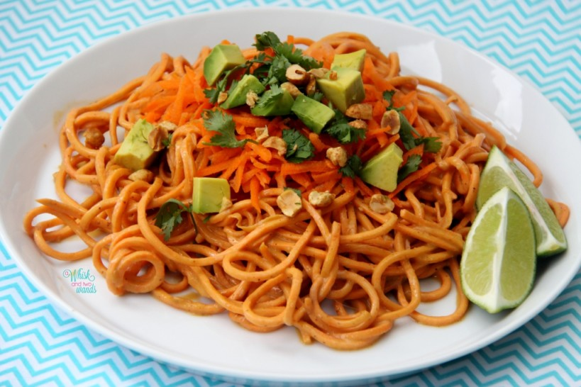 how to make pad thai less spicy