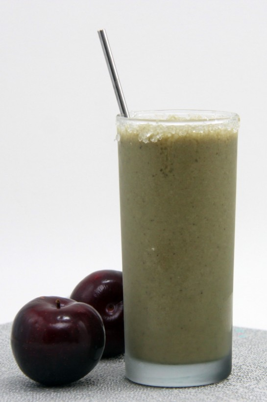 Sugar Plum Smoothie, protein smoothie