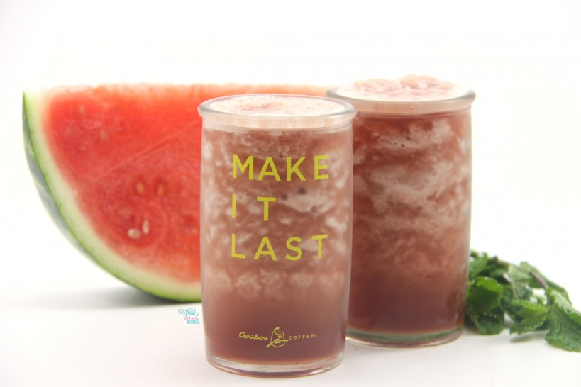 Mint Watermelon Cooler and Smoothie