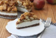 Caramel Apple Cheesecake (vegan and gluten free)