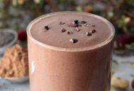 Cranberry Cocoa Bliss Smoothie