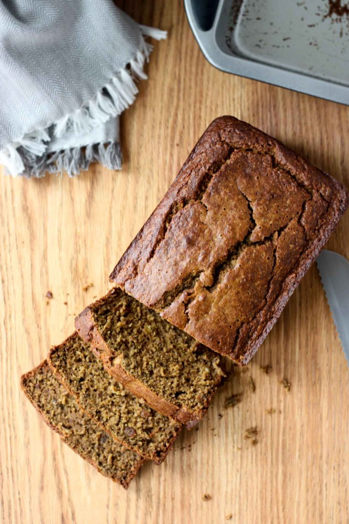 Golden Turmeric Banana Bread