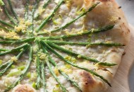 Asparagus Neapolitan Pizza