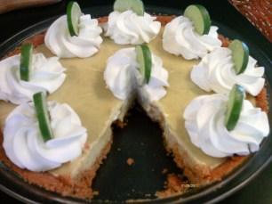 Key Lime Pie-slice missing