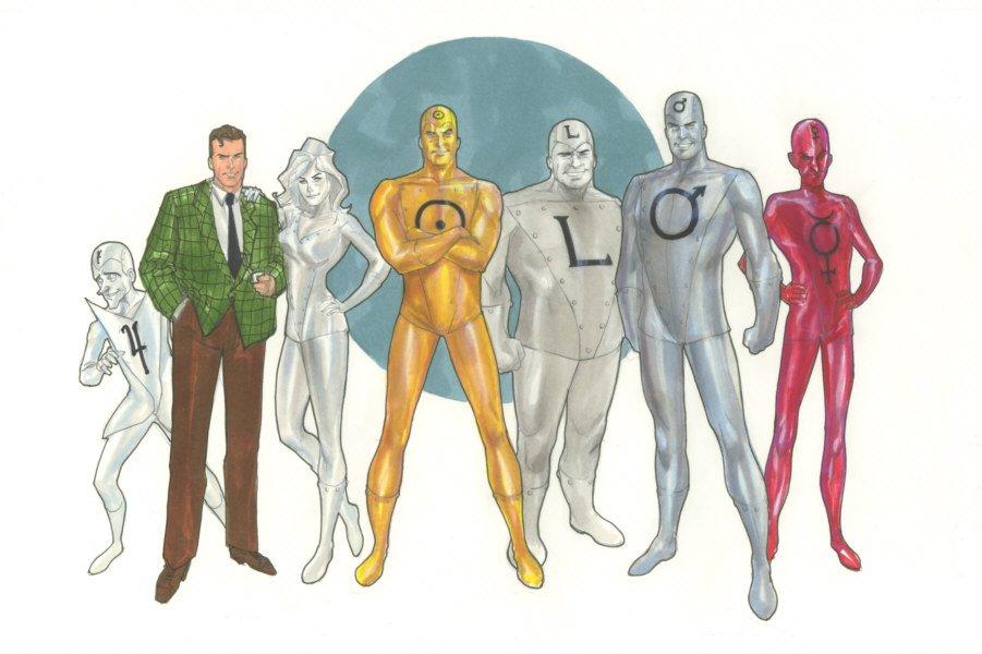 10 DC Properties Warner Bros. Should Focus On Other Than The Metal Men. (1/6)