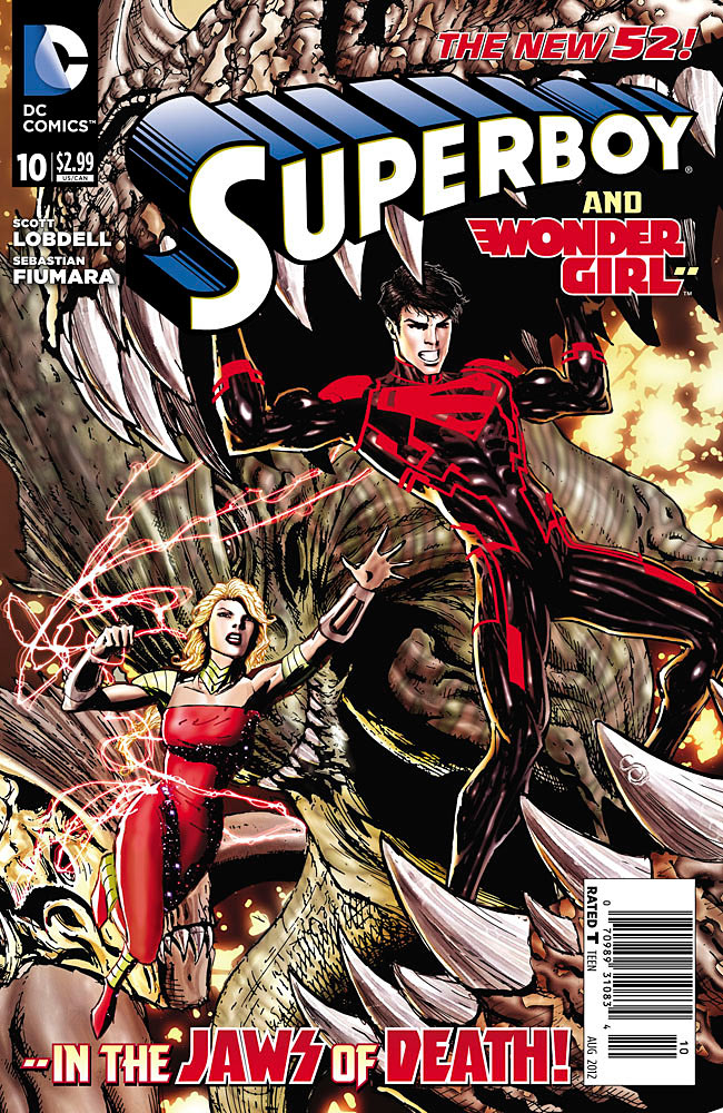 Scott Lobdell Does Something Right?  A (LATE) Review of Superboy 10! (1/5)