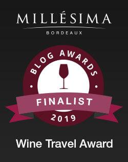 Finalist in 2019 Millesima Blog Awards