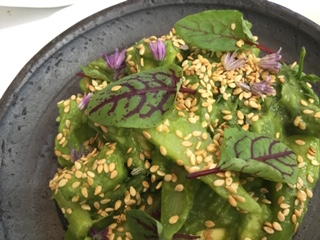Spring cuisine of Jean-Georges Vongerichten