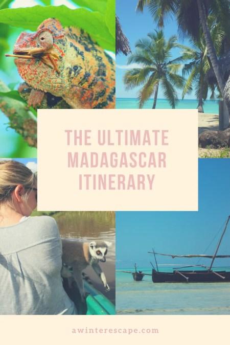 The Ultimate Madagascar Itinerary #madagascar #africa #travel #travelblog