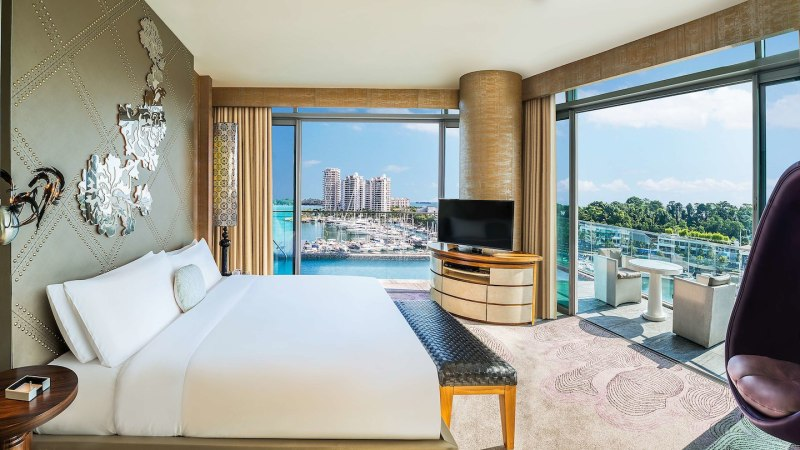 W Hotel Singapore Sentosa | Fantastic Suite | Where To Stay In Singapore #singapore #sentosa #southeastasia #asia