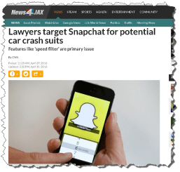 SnapChat speed filter 7