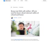 Keep your kids safe online: All you need to know about internet safety at school and home