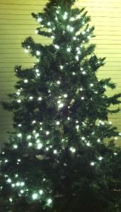 Christmas tree, put aside productivity