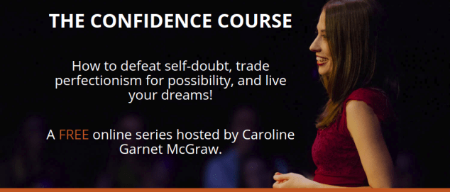 defeat self-doubt with The Confidence Course