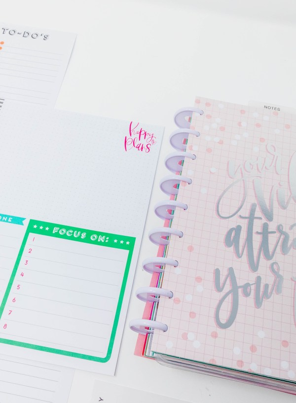 The Monthly Layout Extension Pack from The Happy Planner