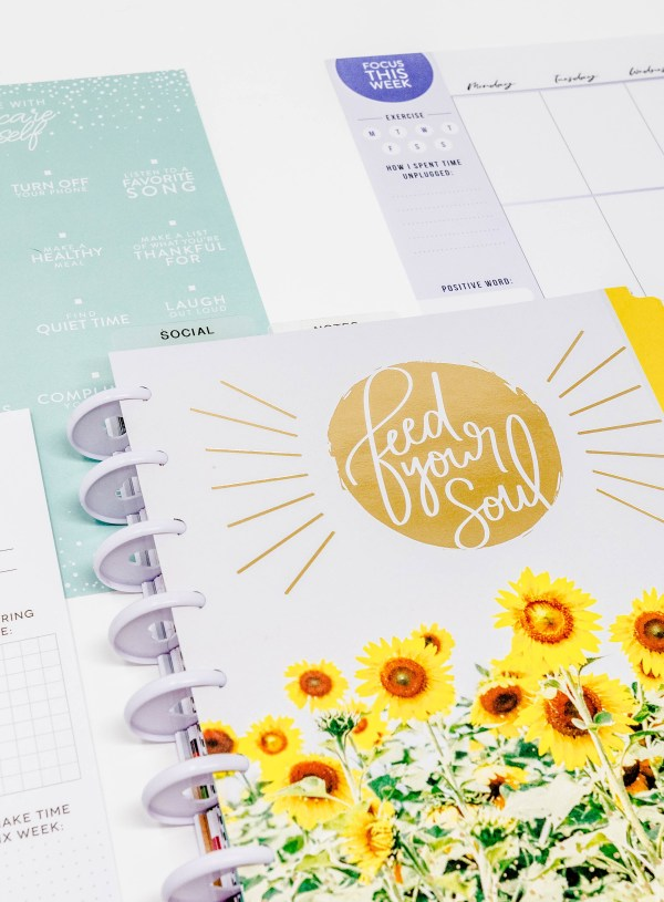 The Wellness Extension Pack from The Happy Planner