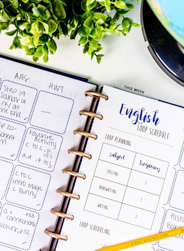 How I Plan for Homeschool + Free Printables!