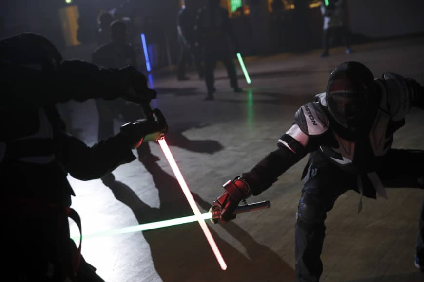 French fencing federation recognizes lightsaber dueling as competitive sport