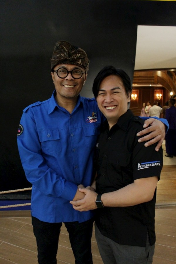 With Mr.Doni Oskaria  CEO Trans Indoensia