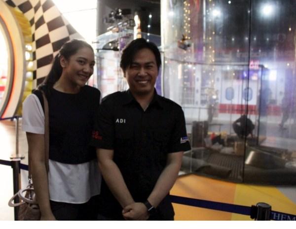 With Ms. Putri Tanjung launching Trans Studio Bali
