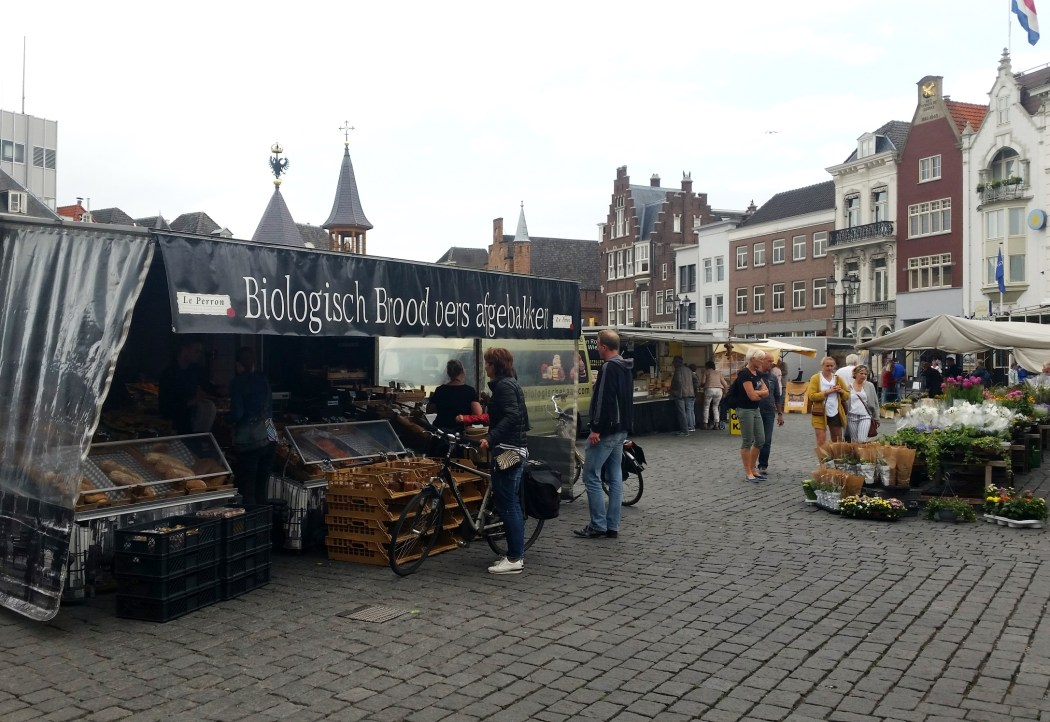 biologische markt Den Bosch