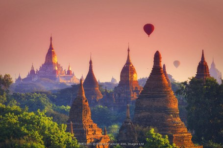 Myanmar (Burma), Temples of Bagan (Unesco world Heritage Site), Ananda Temple