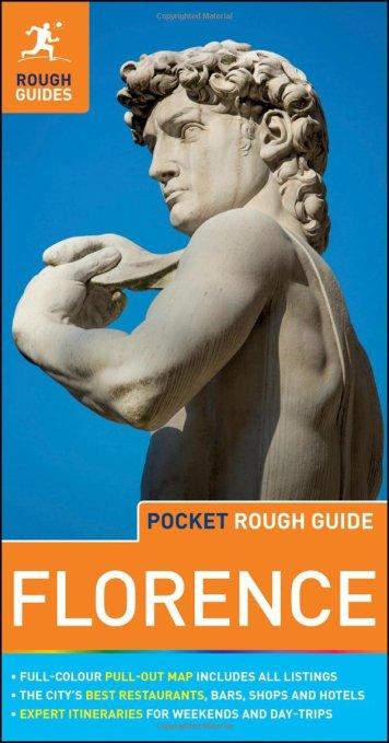 Rough Guide Pocket Florence apr 16