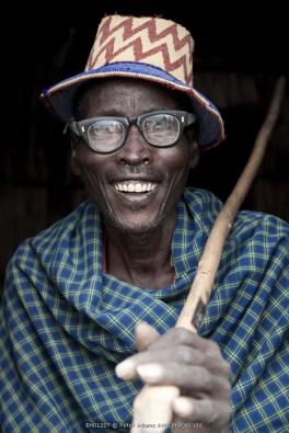 Arbore man, Omo Valley, Ethiopia