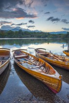 UK, England, Cumbria, Lake District, Derwentwater, Keswick, Rowing Boats for hire