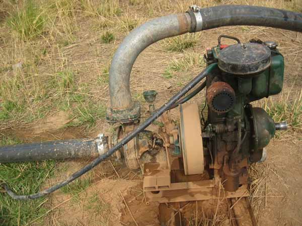 Small, cheap motorized pumps have increased smallholder private irrigation, reducing dependency on rainfed agriculture.