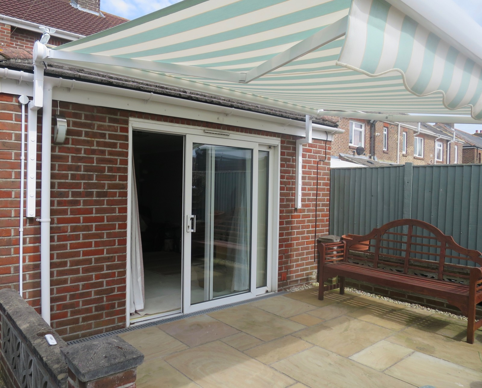Electric Patio Awning Fitted In Portsmouth