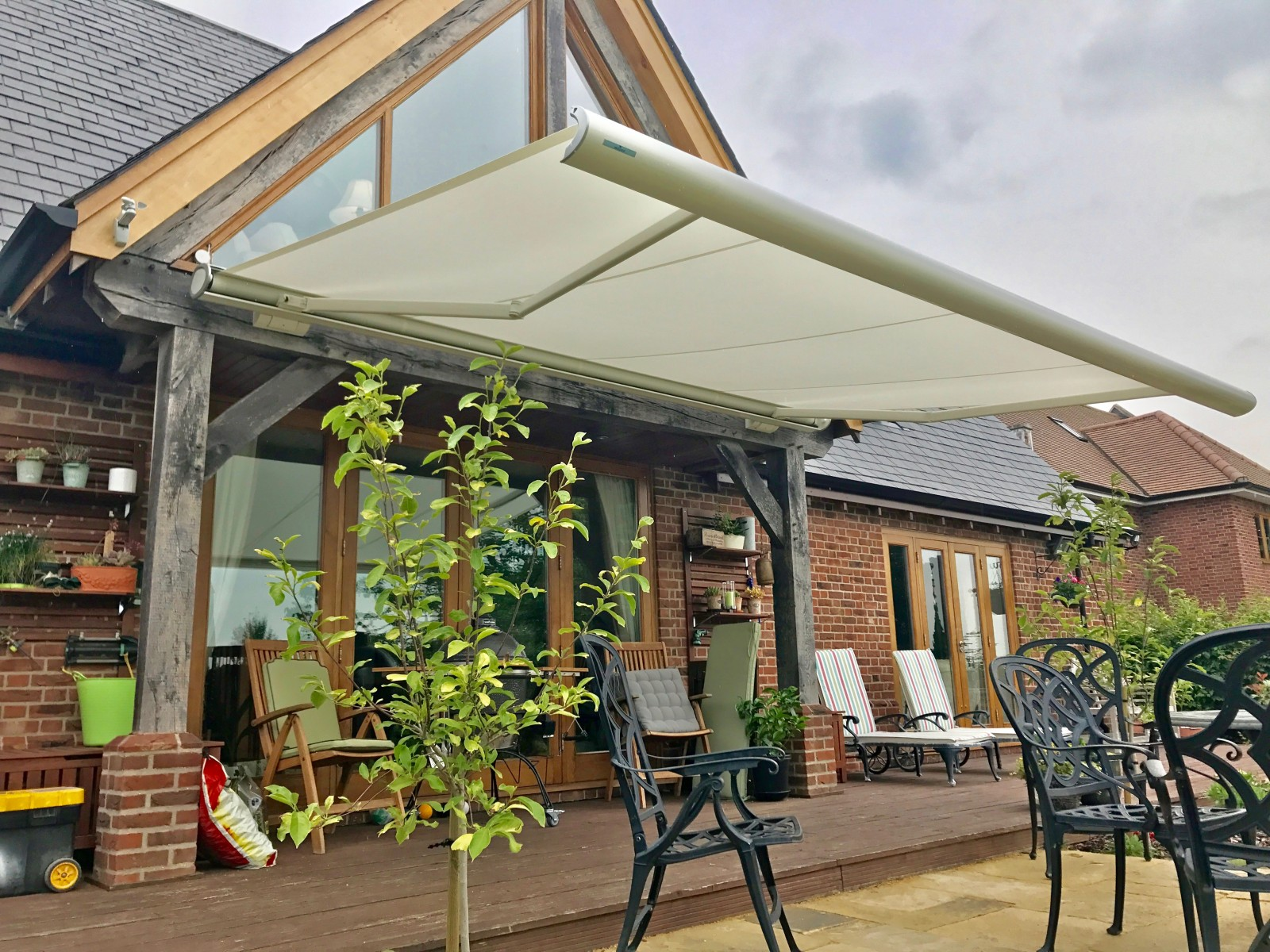Weinor Patio Awning Fitted In Wiltshire