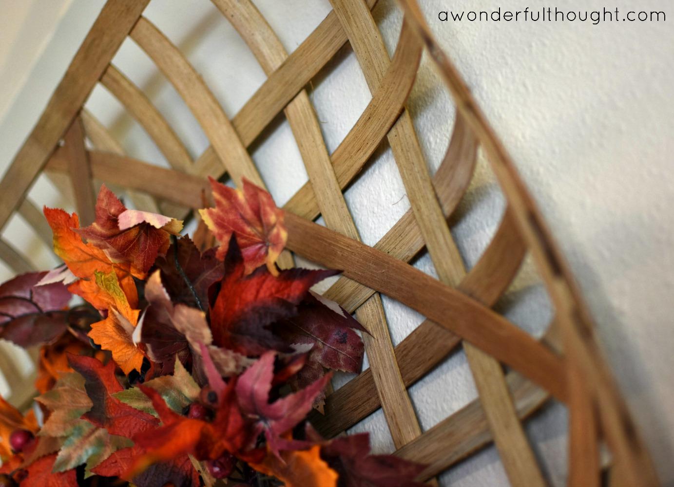 A Wonderful Thought | DIY Tobacco Basket | www.awonderfulthought.com