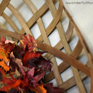 How to make a DIY tobacco basket for only $12