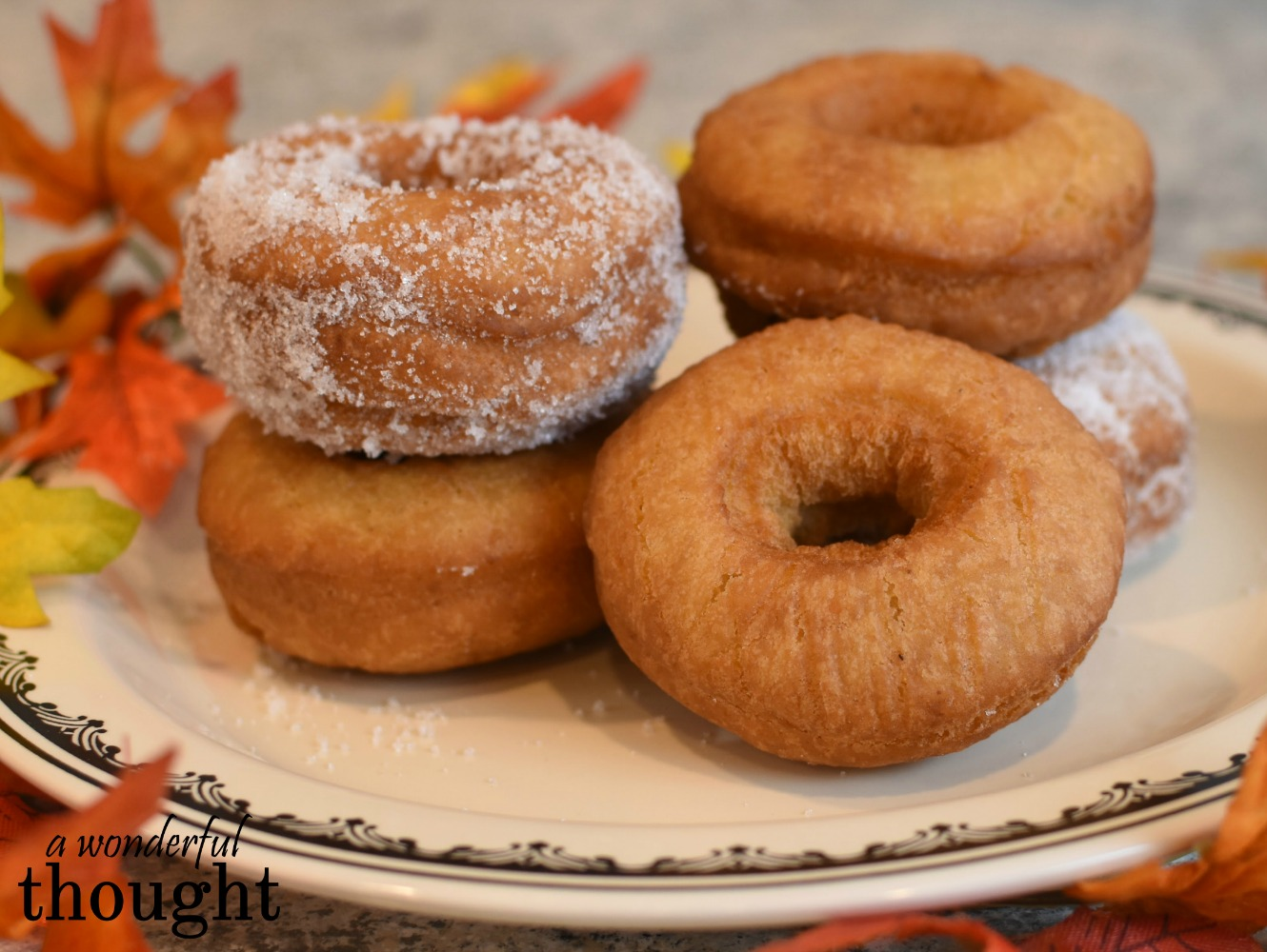 A Wonderful Thought | Homemade Potato Donuts | awonderfulthought.com