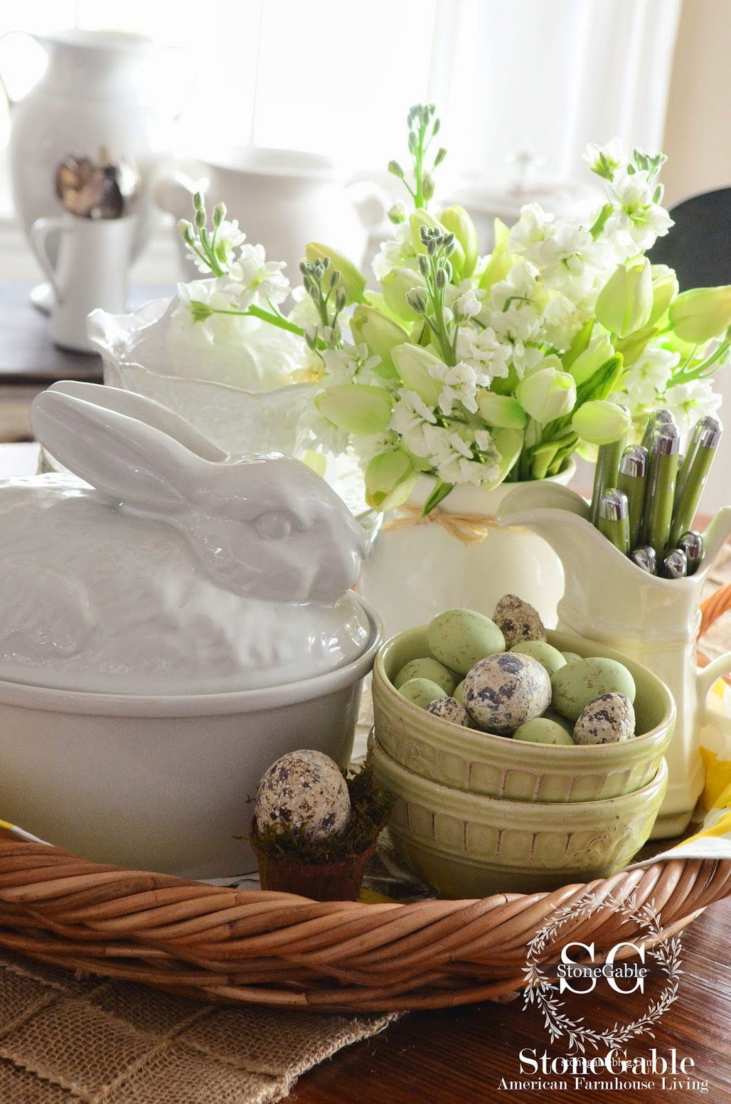 Tips For Creating An Easter Vignette A Wonderful Thought