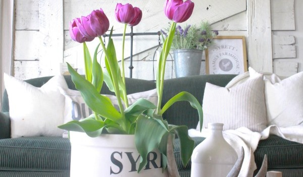 Ways to Incorporate Spring into your Decorating – Merry Monday Link Party #149