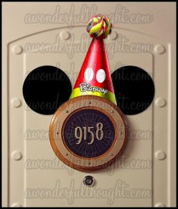 Stateroom Mickey Ears Birthday Hat | awonderfulthought.com
